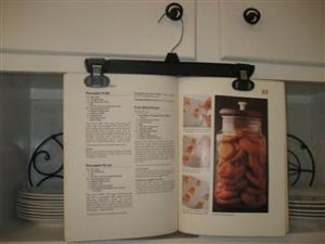 Make Your Own Cookbook Holder
