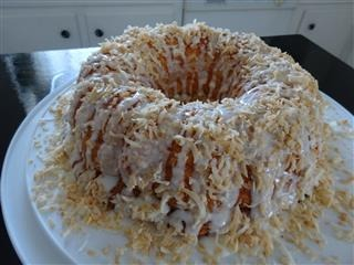 ... to an Angel Food Cake Mix and voila, you have a moist bundt cake