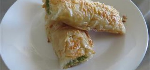 Asparagus Wrapped In Phyllo Dough Recipe