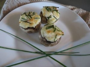 Quick And Easy Crab Stuffed Mushroom Appetizer Recipe