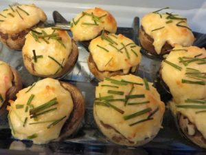 Quick And Easy Crab Stuffed Mushrooms Appetizer Recipe (2)