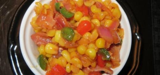BBQ Corn Side Dish