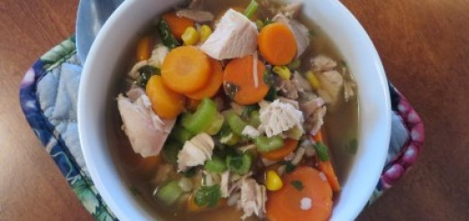 Turkey Vegetable Barley Soup Recipe