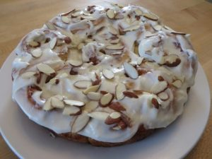 Cinnamon Caramel Rolls With Almond Frosting 060 (Mobile)