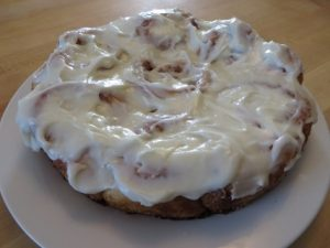 Cinnamon Caramel Rolls With Almond Frosting 063 (Mobile)