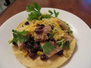 Cilantro Lime Chicken On Tortillas
