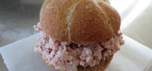 Ham Salad Sandwich Recipe 025 (Mobile)