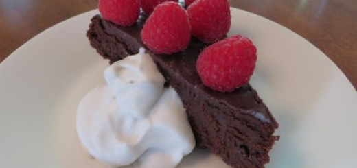 Flourless Chocolate Torte Recipe 006 (Mobile)