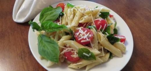 Lemon Basil Pasta Salad Recipe 020 (Mobile)