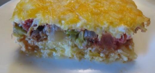 Chorizo Sausage Egg Bake 085 (Mobile)