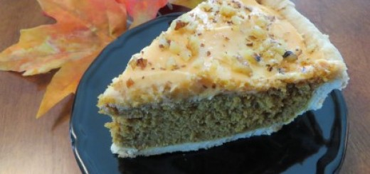 Fall Harvest Pumpkin Spice Cake Pie Recipe
