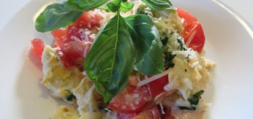 Bruschetta Scrambled Eggs Recipe 024 (Mobile)