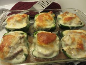 Steak and Provolone Cheese Stuffed Peppers Recipe 058 (Mobile)