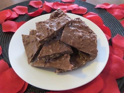 Salted Chocolate Toffee Bark