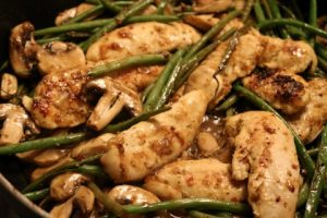 One Skillet Chicken And Green Beans Recipe 044 (Mobile)