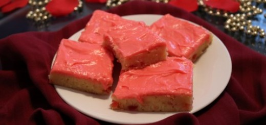 White Chocolate Cherry Brownie Bars - 52 (Mobile)