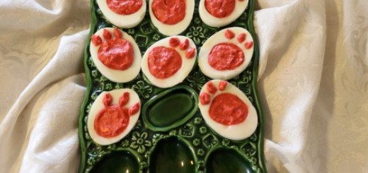 Bunny Footprint Deviled Eggs Recipe 042 (Mobile)