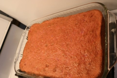 Frosted Strawberry Cake Recipe (5)