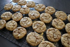 English Toffee Bits Cookies Recipe 072 (Mobile)