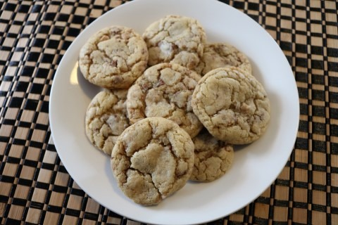 English Toffee Bits Cookies Recipe 083 (Mobile)