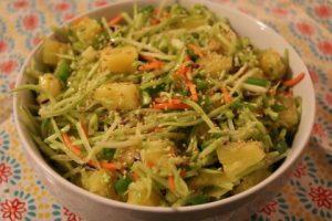 Pineapple Broccoli Slaw Recipe 049 (Mobile)