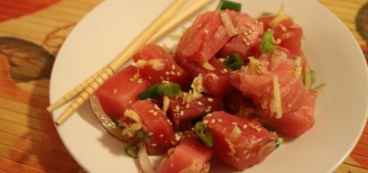 Sashimi Style Tuna Recipe 172 (Mobile)