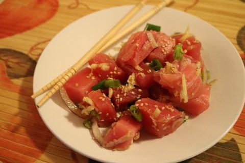 Sashimi Style Tuna Recipe 172 (Mobile)