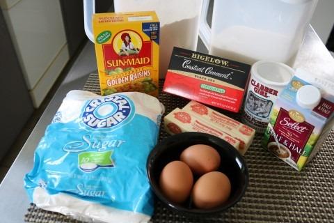 Spice Tea Cake with Raisins Recipe 007 (Mobile)