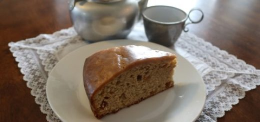 Spice Tea Cake with Raisins Recipe 124 (Mobile)