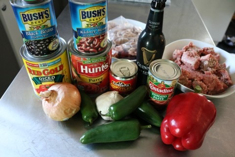 Spicy Guinness Chili